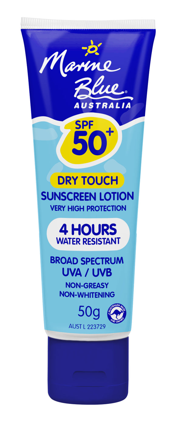 Marine Blue Dry Touch Lotion 50g Tube SPF 50+