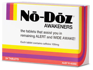 No Doz Awakeners 100mg 24 tablets