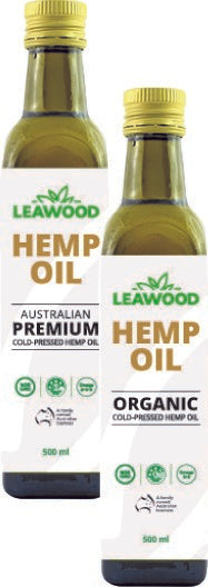 Leawood Hemp Oils 250ml