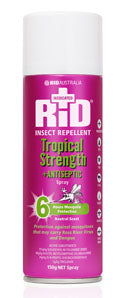 Rid Tropical Strength + Antiseptic 150g Aerosol