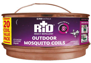 Rid Mosquito Coils 20pk