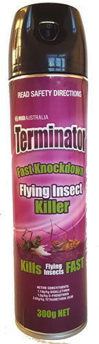 Rid Terminator Flying Insect Killer Aerosol 300g