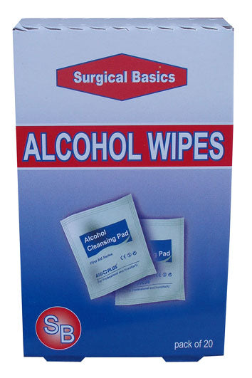 Alcohol Wipes 20s