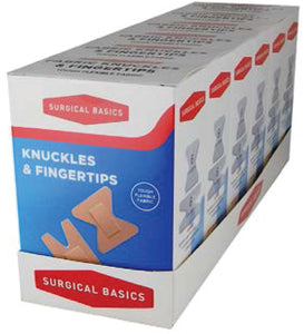 Knuckle and Fingertip Strips 12pc