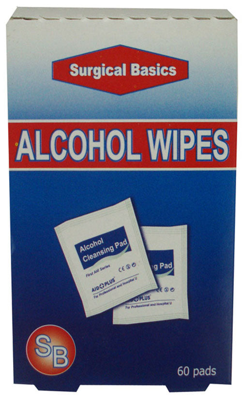 Alcohol Wipes 60s