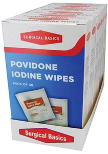 Povidone Iodine Wipes 30pk