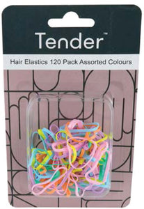 No tear Elastic Assorted Colours