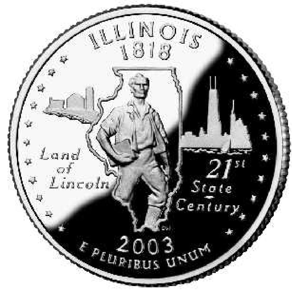 2003 state quarters illinois alabama maine missouri arkansas