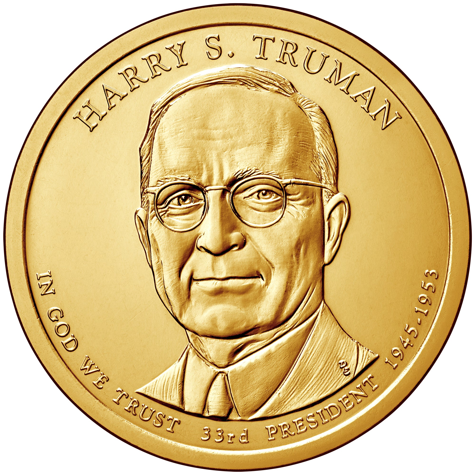2015 presidential dollars Harry Truman Dwight Eisenhower John F Kennedy Lyndon B Johnson