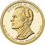 2016 presidential dollars Richard Nixon Ronald Reagan