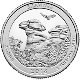 2016 uncirculated national park quarters
