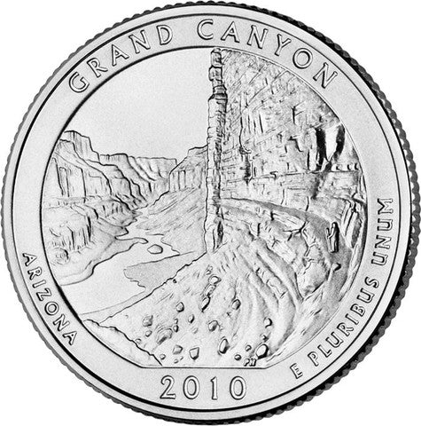 Hot springs yellowstone yosemite grand canyon mt hood 2010 uncirculated national park quarters