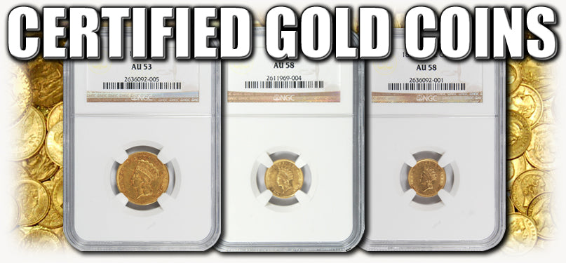 Certified Gold Coins
