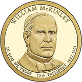 2013 William McKinley Presidential Dollar