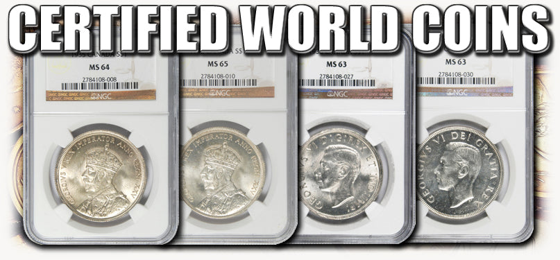 Certified World Coins