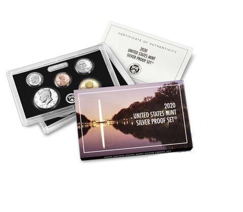 2020-S 10-coin Silver Proof Set . . . . Superb Brilliant Proof
