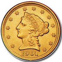 $2.50 Liberty Gold . . . . Choice Brilliant Uncirculated