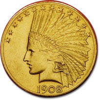 $10.00 Indian Gold