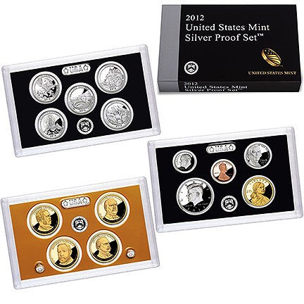 2012-S Silver Proof Set . . . . Gem Brilliant Proof