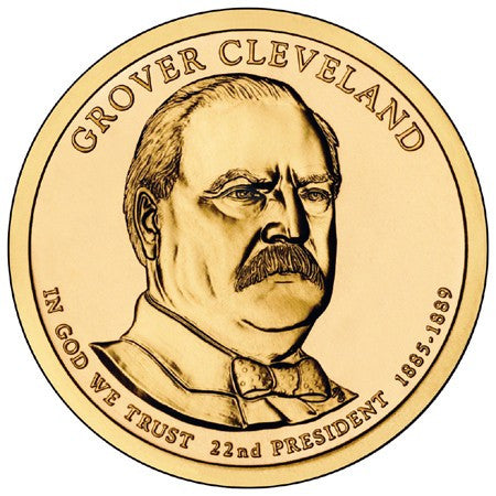 2012 Grover Cleveland - First Term - Presidential Dollar