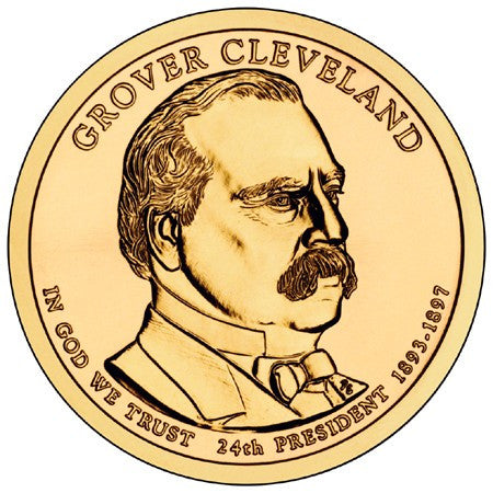 2012 Grover Cleveland - Second Term - Presidential Dollar