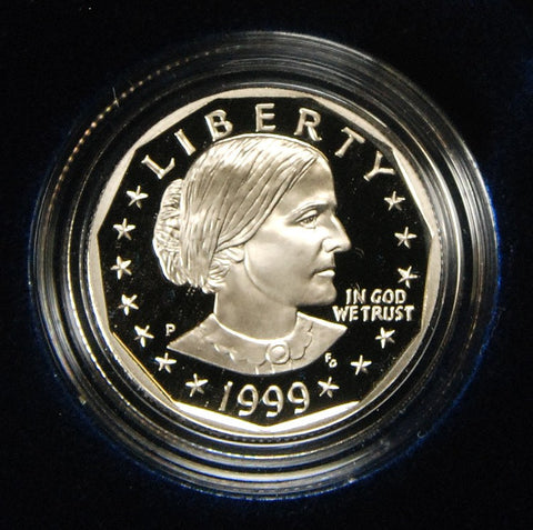 1999 Susan B. Anthony Dollar