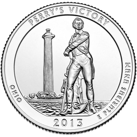 2013 Perry's Victory and International Peace Memorial, OH Quarter