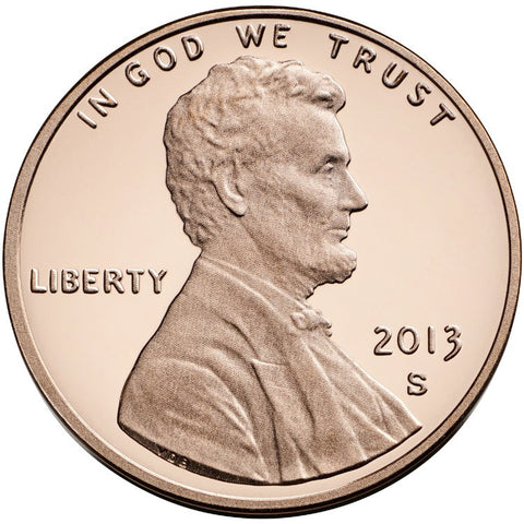 2013-S Lincoln Shield Cent