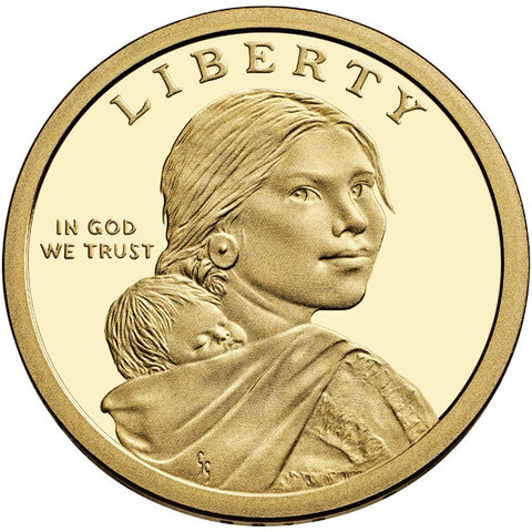 2013-S Native American Dollar