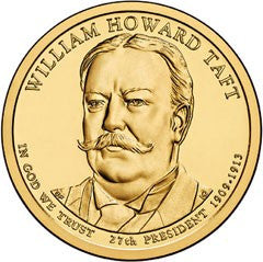 2013 William Taft Presidential Dollar