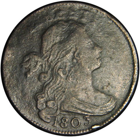1803 S-260 Draped Bust Large Cent