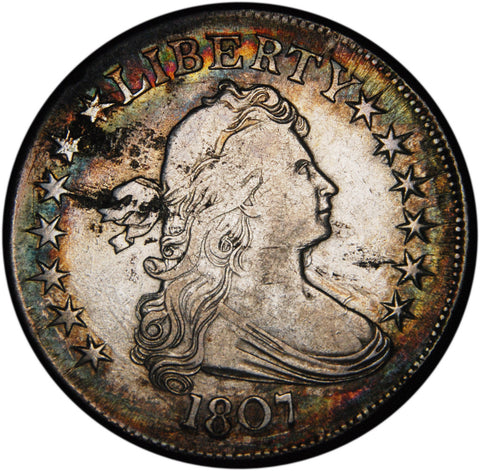 1807 Draped Bust Half . . . . <br>Extremely Fine