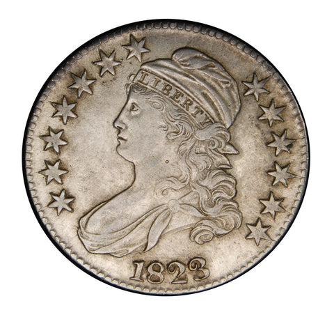 1823 Bust Half . . . . Choice About Uncirculated