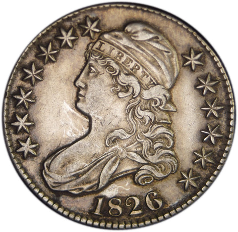 1826 Bust Half <br>Choice About Uncirculated