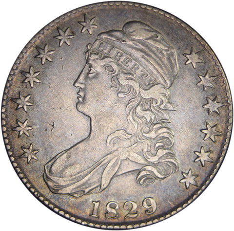 1829 Bust Half <br>Choice About Uncirculated