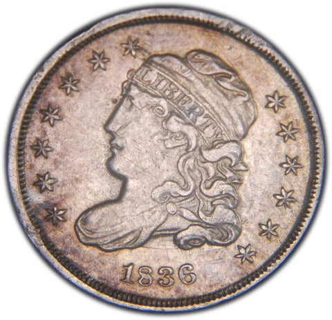 1836 Bust Half Dime <br>Choice About Uncirculated