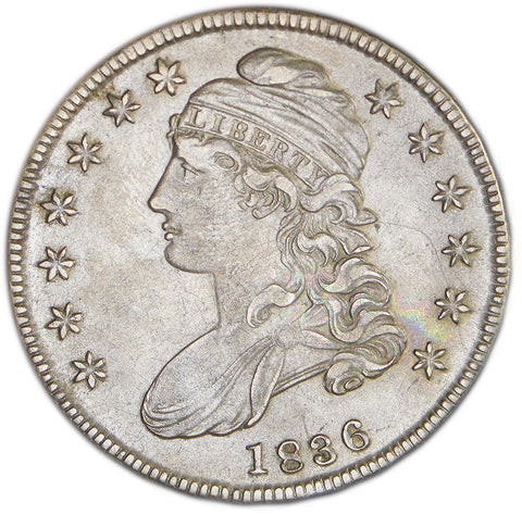 1836 Bust Half <br>Choice About Uncirculated