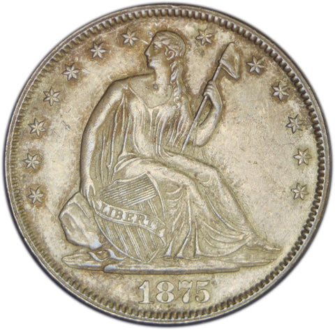 1875 Seated Liberty Half <br>Choice Brilliant Uncirculated