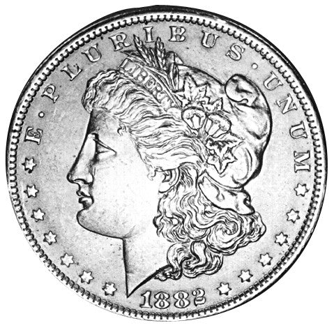 1882 Morgan Dollar