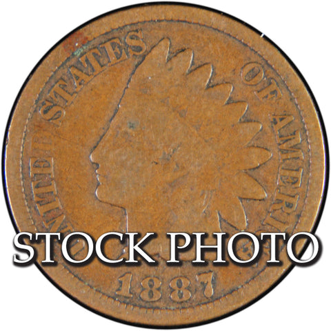 1887 Indian Cent <br>Good