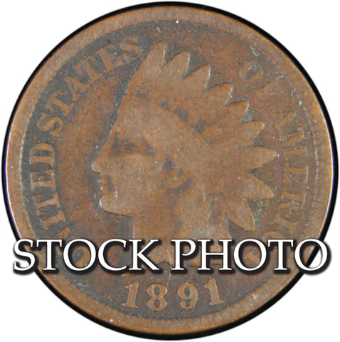 1891 Indian Cent <br>Good