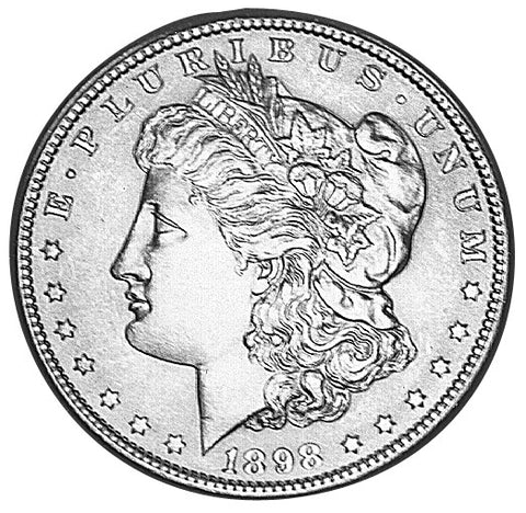 1898 Morgan Dollar