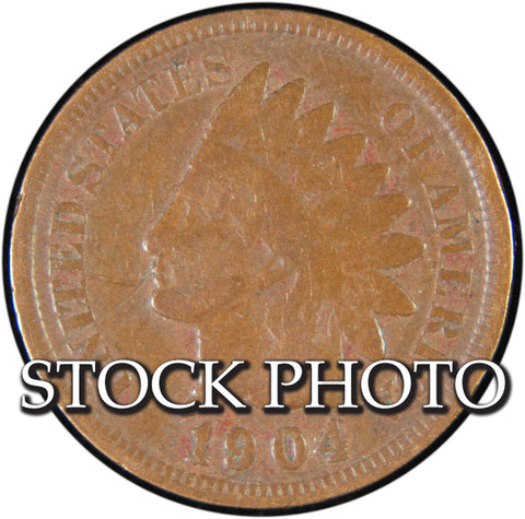 1904 Indian Cent <br>Good