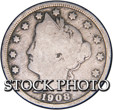 1908 Liberty Nickel