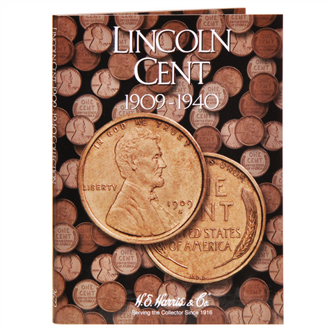 Lincoln Cent Harris Coin Folder