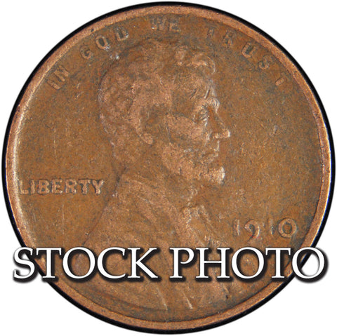 1910 Lincoln Cent <br>Good