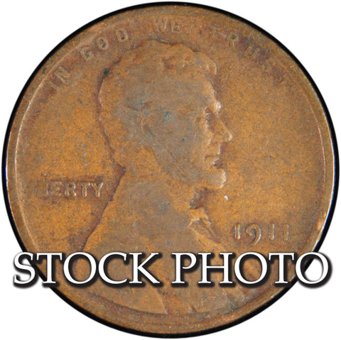 1911 Lincoln Cent <br>Good