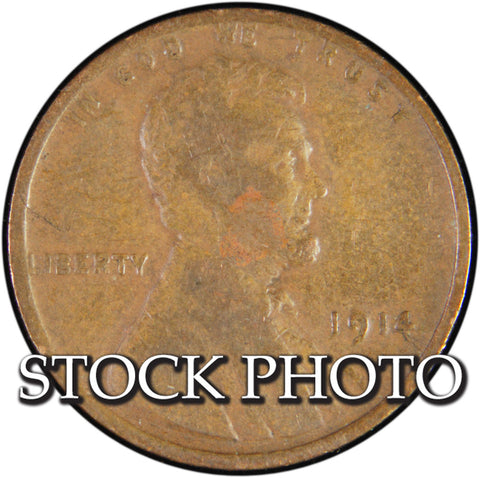 1914 Lincoln Cent <br>Good