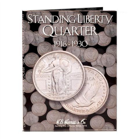 Standing Liberty Quarter Harris Coin Folder)