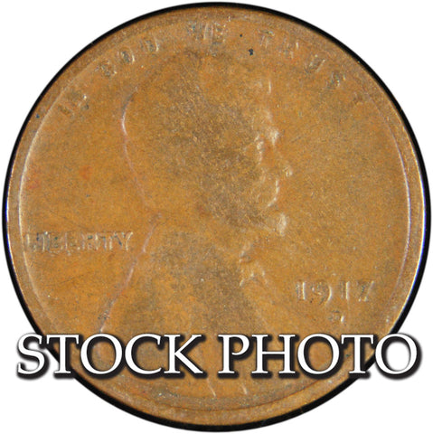 1917-D Lincoln Cent <br>Good